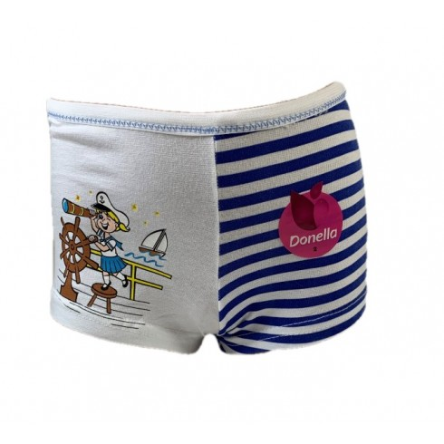 Dievčenské šortkové nohavičky dievča na lodi