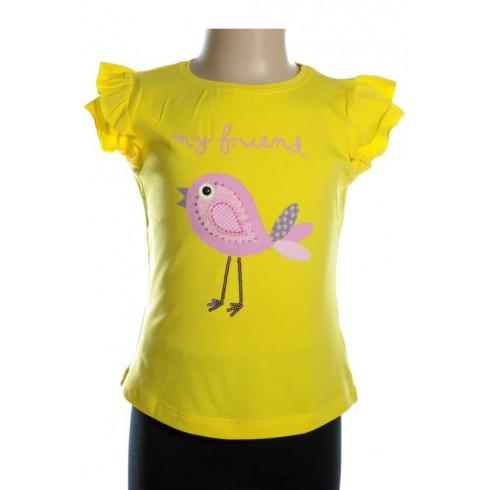 Detské tričko - My friend Bird kratky rukav tweety girl