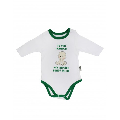Chlapčenské kojenecké body - tu velí mamina