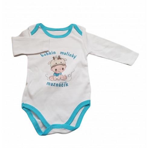 Kojenecké body - babkin malinký maznáčik