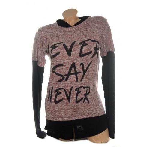 Dámsky sveter PoloTrade Never say never