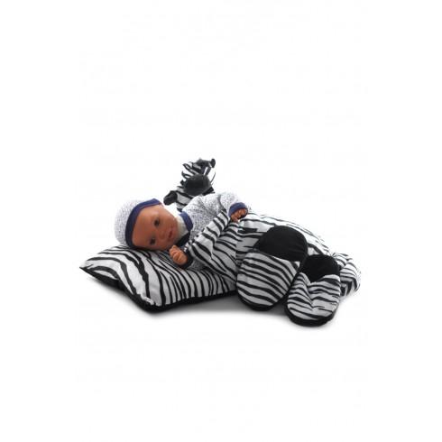 Detský 4-dielný set zebra, PoloTrade