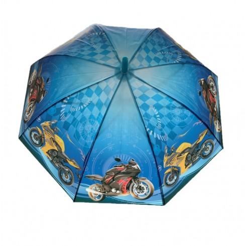Dáždnik detský motorky 66cm