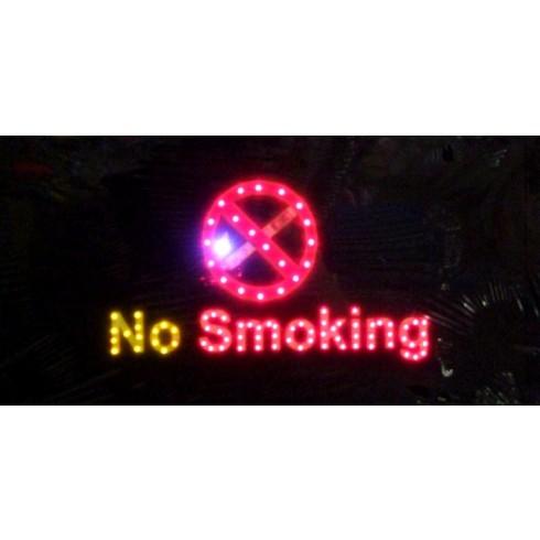 LED pútač - No Smoking, C-7-7777