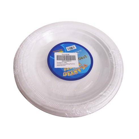 Plastové taniere 20ks, PoloTrade