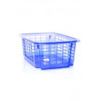Priehľadný plastový košík na prádlo 12 l