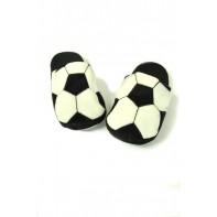 Papuče futbalová lopta