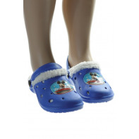 Detské gumené šľapky Mickey - zateplené