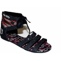 Riflové sandále Hello Kitty