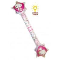 Nafukovacia palica Hello Kitty 67cm svietiaca