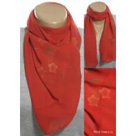 Dámska jarná šatka - kvetovaná, 112x28cm