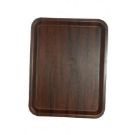 Protišmyková tácka - drevený vzor 46x36cm