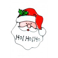 Nálepky na sklo vianočné motívy