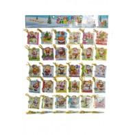 200 kartičiek 5,5x7,5cm santa, 4-80082, C-4-80082