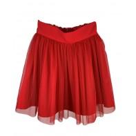 Dievčenská červená sukňa