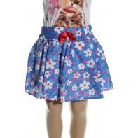 Detská sukňa - malé kvety