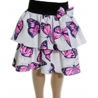 Detská sukňa - motýľ, pás