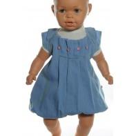Detské rifľové šaty
