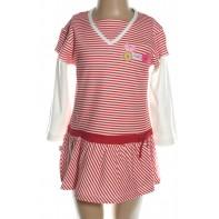 Šaty detské námornícke dlhý rukáv
