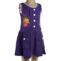 Dievčenské šaty - ježibaba