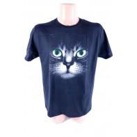 Pánske tričko s mačkou
