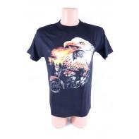 Pánske tričko Orol a motorka