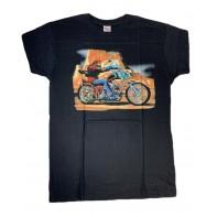 Pánske tričko motorkár