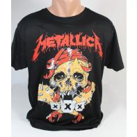 Tričko Metallica, lebka XXX