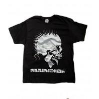 Tričko PoloTrade Rammstein s obojstrannou potlačou