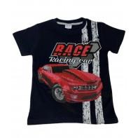 Chlapčenské tričko auto RACE