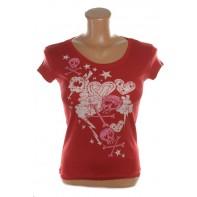 Dámske tričko - Lebka