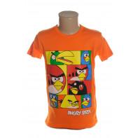 Detské tričko - vtáci Angry birds