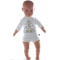 Detské, kojenecké body - žirafka 80-98