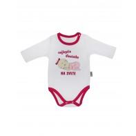 Dievčenské kojenecké body - najlepšie dievčatko