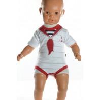 Detské, kojenecké body - námorník