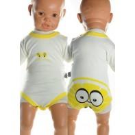 Detské, kojenecké body - Citrón