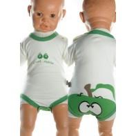 Detské, kojenecké body - zelené jablko