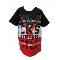 Chlapčenské tričko Black streets