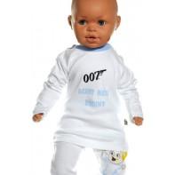 Detské tričko - Agent našej rodiny- svetlomodrá
