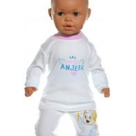 Detské tričko - Malý anjelik , svetloružová