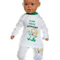 Detské tričko - pijem pokiaľ neodpadnem, zelená