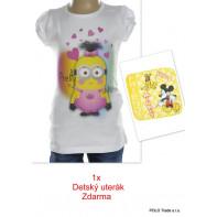 Detské tričko - Minions krátky rukáv