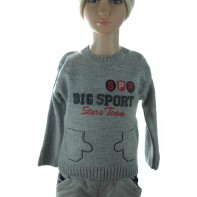 Sveter detský - Big sport 3D