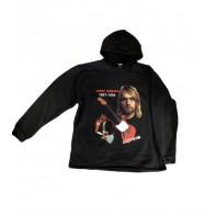 Mikina Kurt Cobain s kapucňou