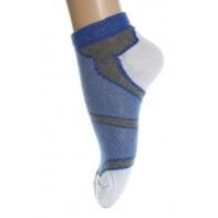 Kotníkové ponožky - modré