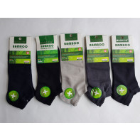 Kotníkové bambusové,antibakteriálne ponožky