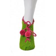 Štrikované ponožky/papuče