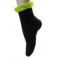 Detské štrikované ponožky vločky