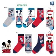 Detské ponožky Mickey Ohé Matelot 3ks