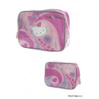 Kozmetická taška Hello Kitty srdiečka